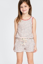 Sol Angeles Monterey Stripe Romper - Front cropped