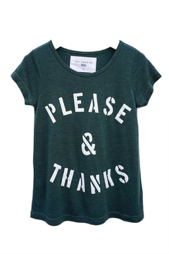 Shoptiques Product: Please Thanks Tee