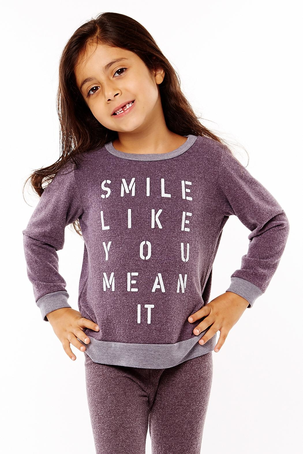 Sol Angeles Smile Pullover Top - Main Image
