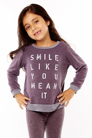 Sol Angeles Smile Pullover Top - Product Mini Image