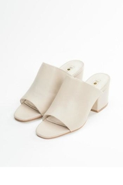 SOL SANA Leather Mule - Back cropped