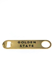 SOLA Gold Bottle Opener - Front cropped