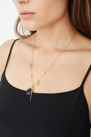 Chan Luu Soladite Charm Drop Necklace - Product Mini Image