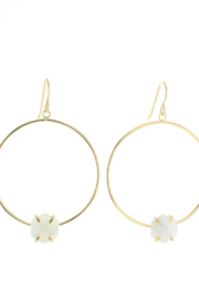 Lotus Jewelry Studio Solaire Earrings - Front cropped