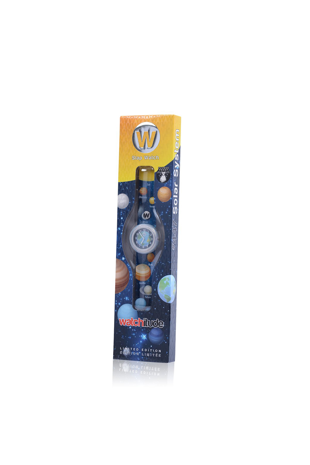 Watchitude Solar System Slap Watch - Side Cropped Image
