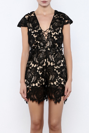Solaris Style Lace Romper - Side cropped
