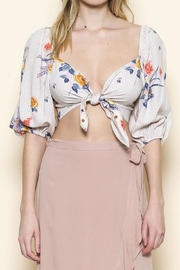 Sole Mio Floral Crop Top - Product Mini Image