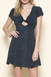 Sole Mio Polka Dot Dress - Front cropped