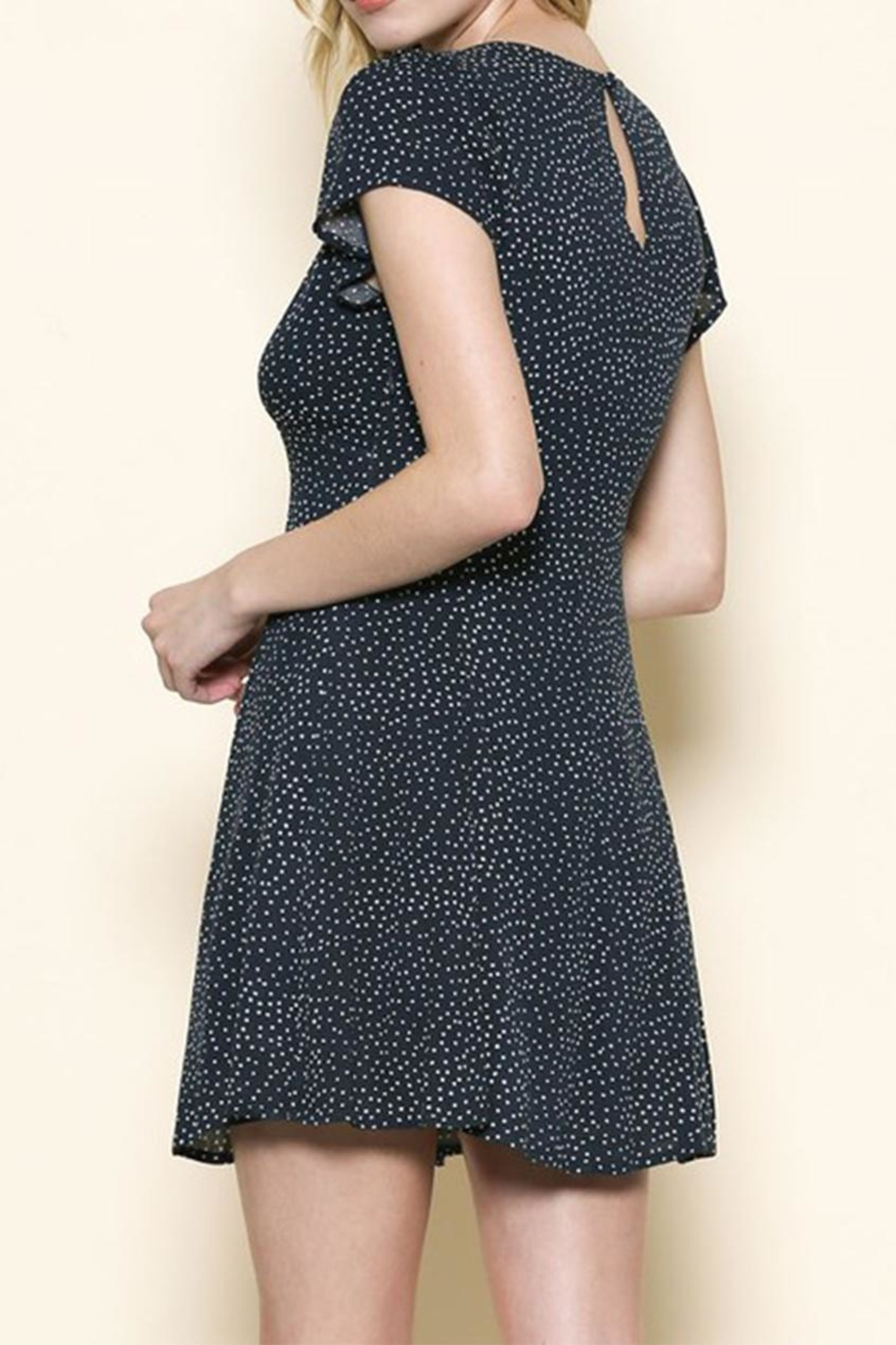 Sole Mio Polka Dot Dress - Front Full Image