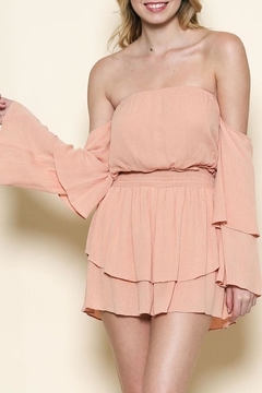 Shoptiques Product: Strapless Smocked Dress