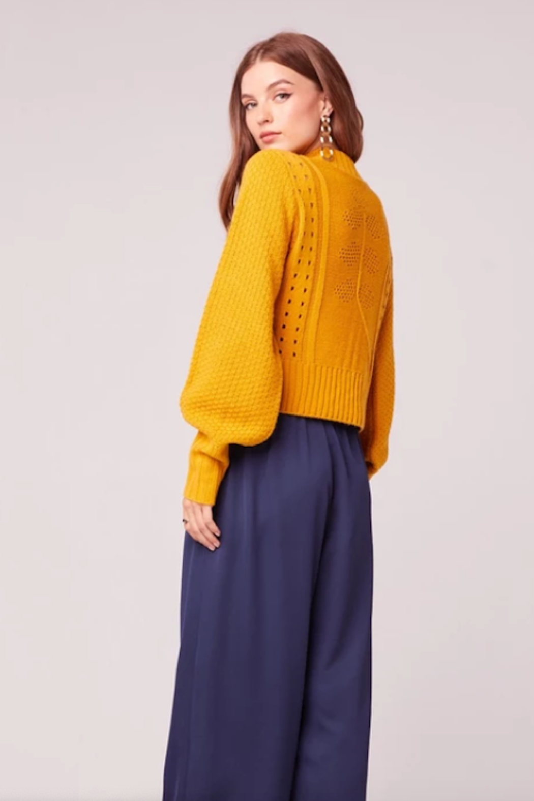 Band Of Gypsies Soleil Sweater - Front Full Image