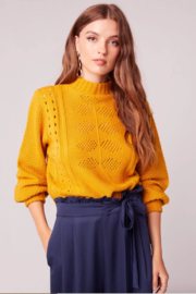 Band Of Gypsies Soleil Sweater - Product Mini Image