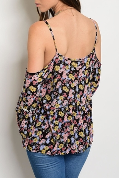 Solemio Bell Floral Top - Alternate List Image