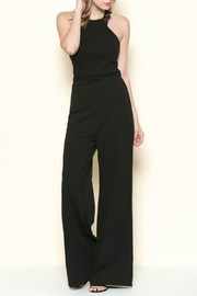 Solemio Lace Back Jumpsuit - Product Mini Image