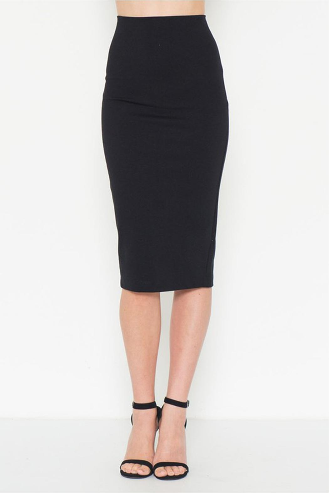 solemio midi pencil skirt from philadelphia by alana ferr