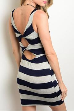 Solemio Nautical Stripes Dress - Alternate List Image