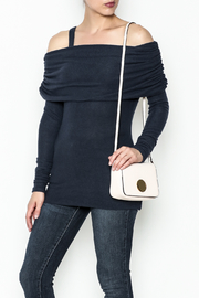 Solemio Cold Shoulder Sweater - Product Mini Image