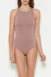 Solemio Ribbed Bodysuit - Front cropped