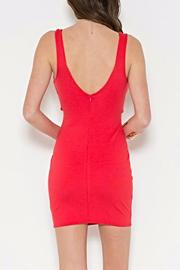 Solemio Strappy Bodycon Mini - Front full body