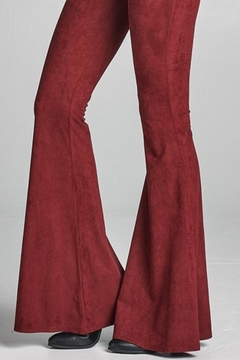 Shoptiques Product: Suede Flare Pants