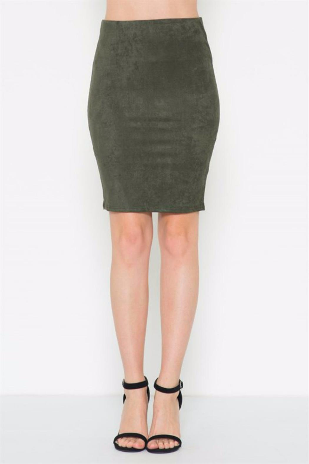 Solemio Suede Pencil Skirt from San Diego by BRANDED — Shoptiques