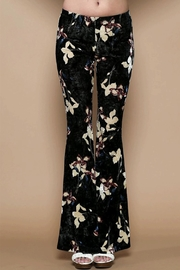 Solemio Velvet Bell Bottoms - Product Mini Image