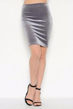 Shoptiques Product: Velvet Pencil Skirt