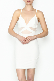 Solemio White Lightening Bodycon - Product Mini Image
