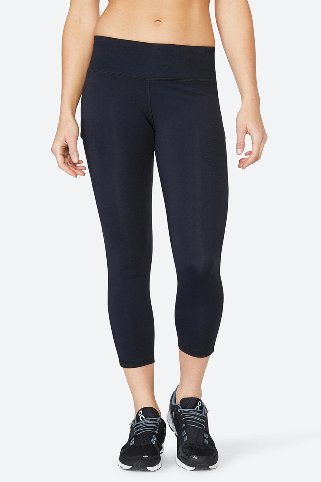 Solfire Chelsea Mesh Tight Leggings - Side Cropped Image