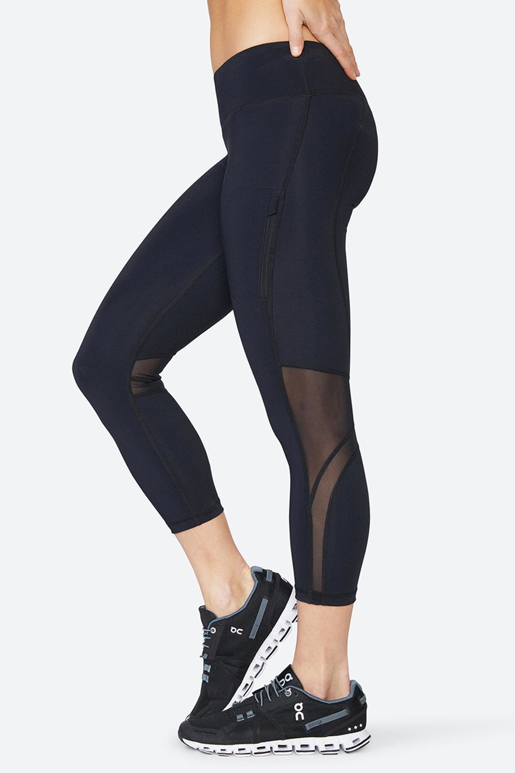 Solfire Chelsea Mesh Tight Leggings - Main Image