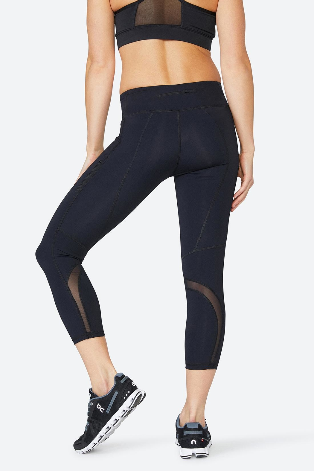 Solfire Chelsea Mesh Tight Leggings - Front Full Image