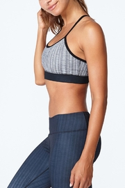 Solfire Grey Circuit Sports Bra - Side cropped
