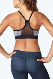 Solfire Grey Circuit Sports Bra - Front full body