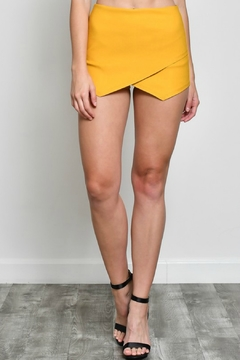 Shoptiques Product: Solid Asymmetric Skort