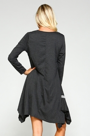 Racine Solid Asymmetrical Dress - Other
