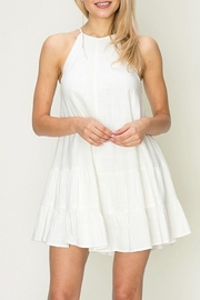 HYFVE Solid Babydoll Dress - Product Mini Image
