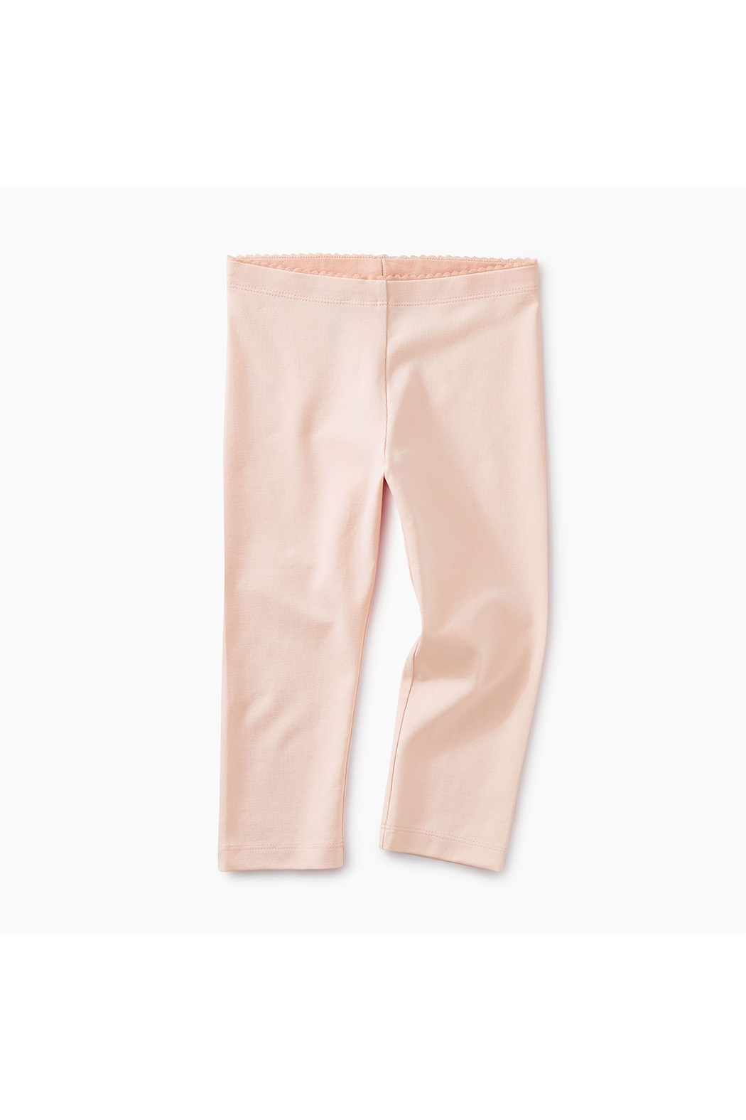 Tea Collection Solid Capri Leggings - Front Cropped Image