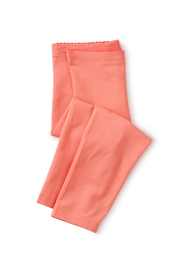 Tea Collection  Solid Capri Leggings - Sunset Pink - Product Mini Image