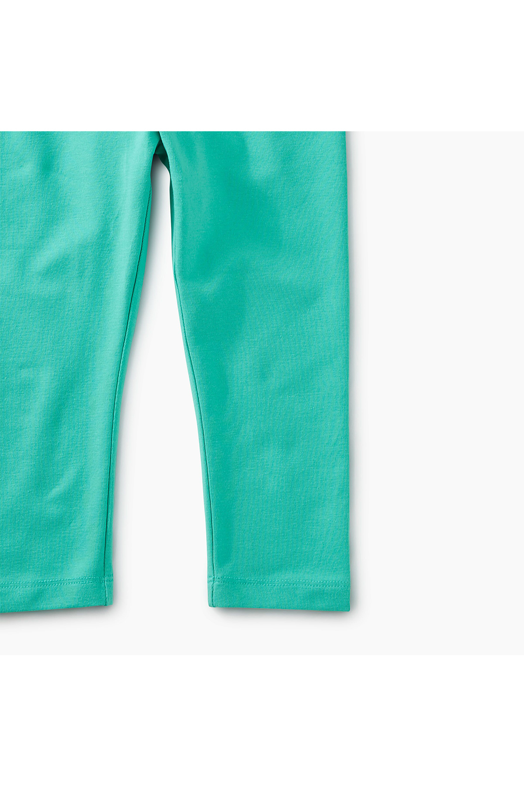 Tea Collection Solid Capri Leggings - Side Cropped Image