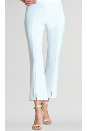 Clara Sunwoo Solid center seam ankle pant - Product Mini Image