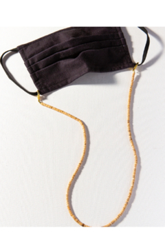 Ink + Alloy Solid Coconut Mask Necklace - Product List Image