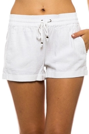 Love Tree Solid Color Shorts - Product Mini Image