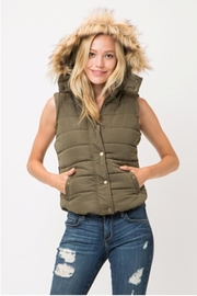 Love Tree Solid Color Vest - Front cropped