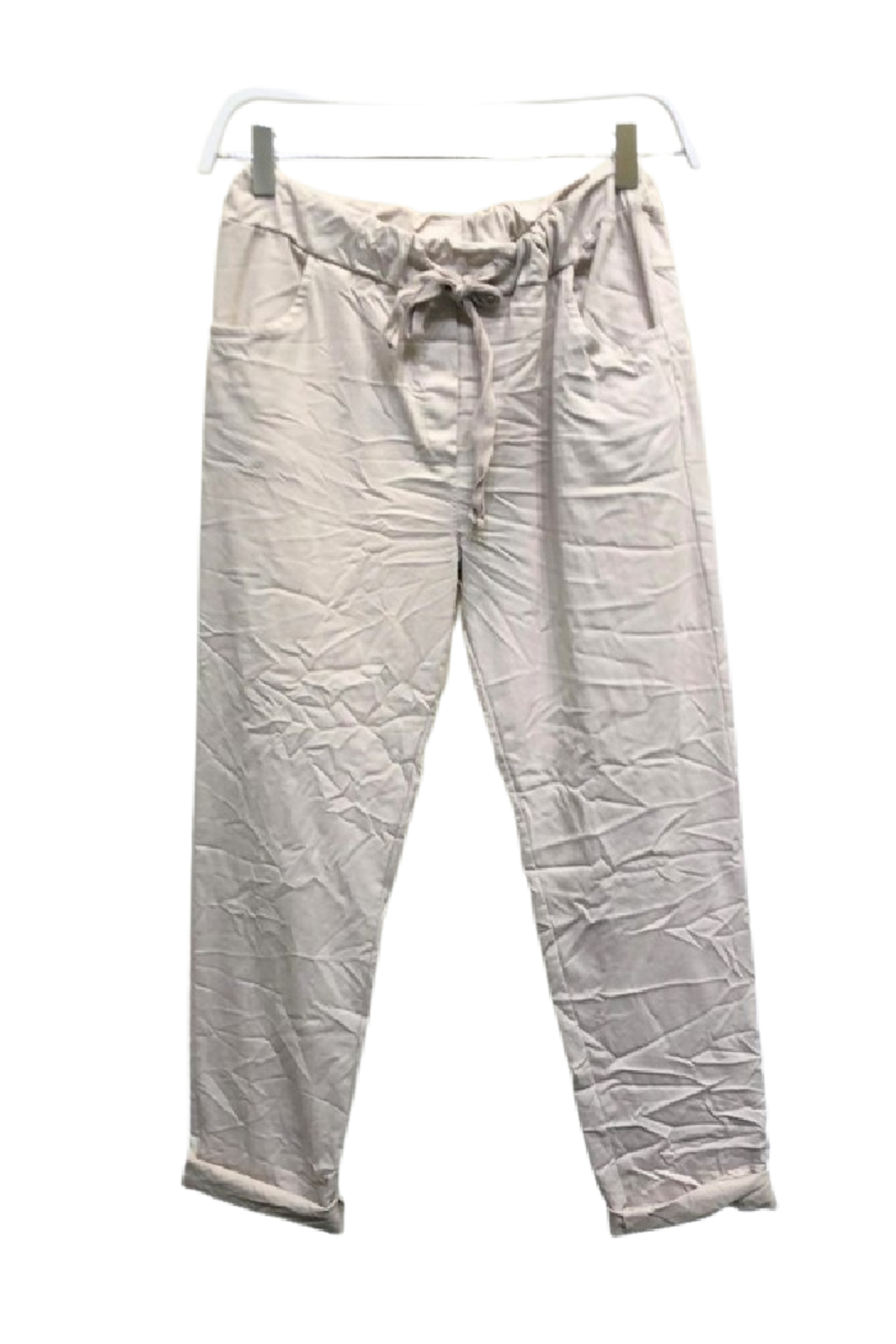 Venti6 Solid Crinkle Jogger - Main Image