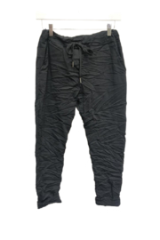 Venti6 Solid Crinkle Jogger - Back cropped