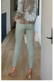 6 by Six Solid Crinkle Pants - Product Mini Image