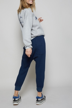 All Things Fabulous Solid Cropped Sweatpants - Product List Image