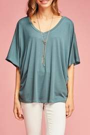 LuLu's Boutique Solid Dolman Top - Product Mini Image