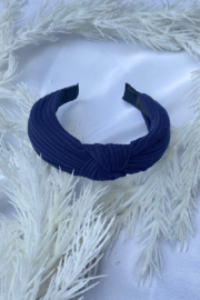 CJ Rose solid fabric headband - Front cropped