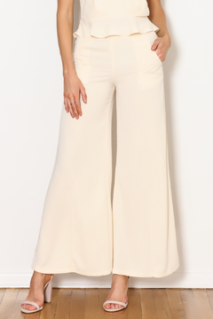 Alythea Solid Flare Pant - Product List Image